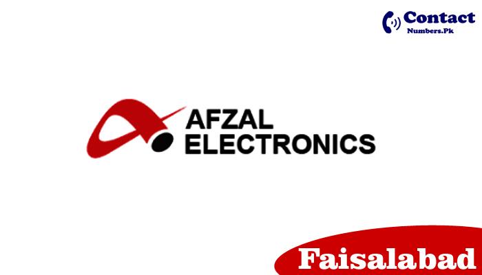 afzal electronics faisalabad contact number