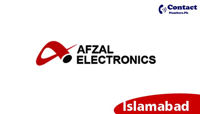 afzal electronics islamabad contact number