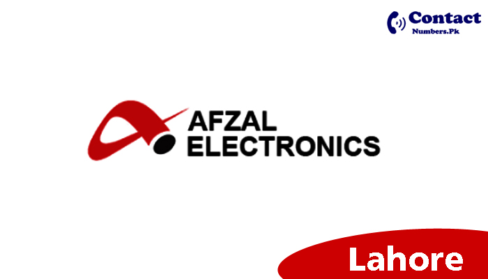 afzal electronics lahore contact number