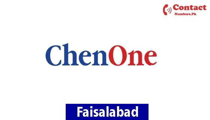 chenone faisalabad contact number