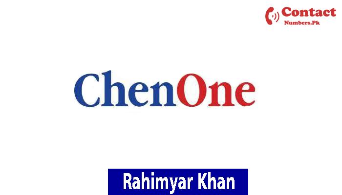 chenone rahim yar khan contact number