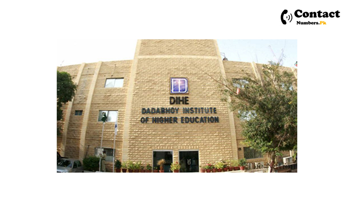 dadabhoy institute of higher education contact number
