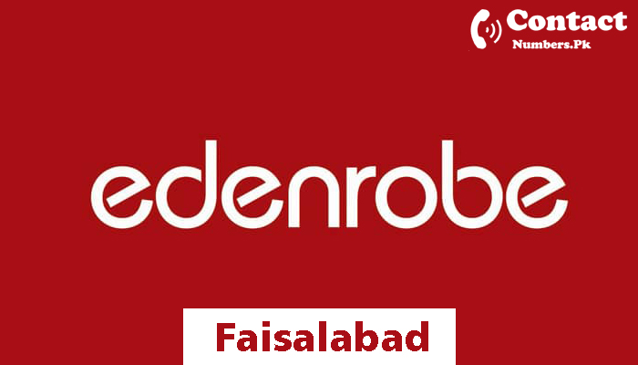 edenrobe faisalabad contact number