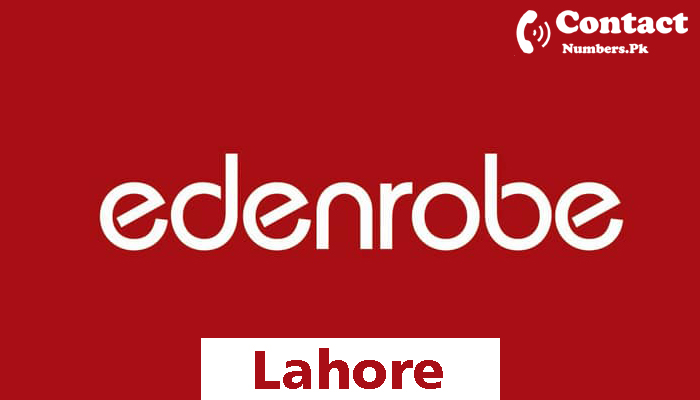 edenrobe lahore contact number