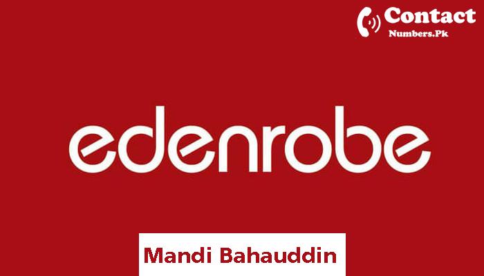 edenrobe mandi bahauddin contact number