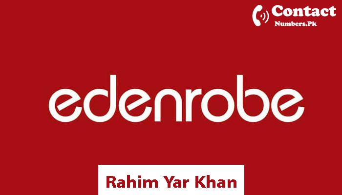 edenrobe rahim yar khan contact number