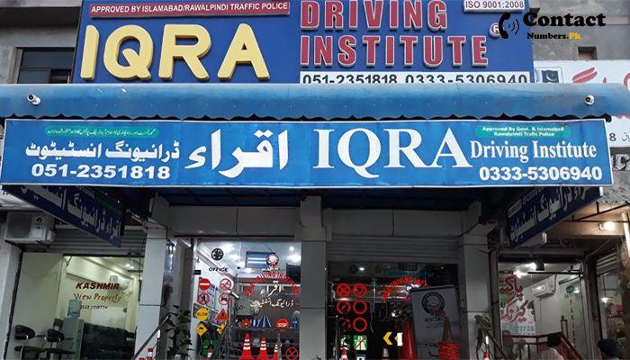 iqra driving school contact number