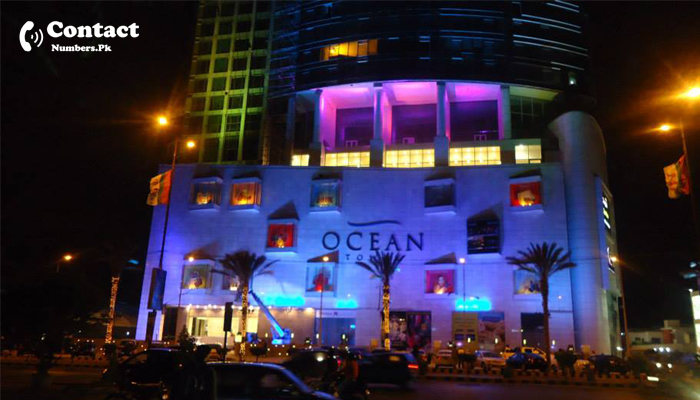 ocean mall karachi contact number