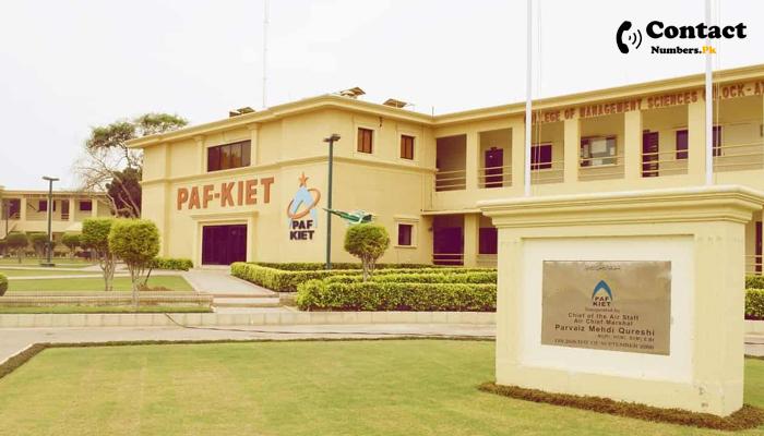 paf kiet city campus contact number