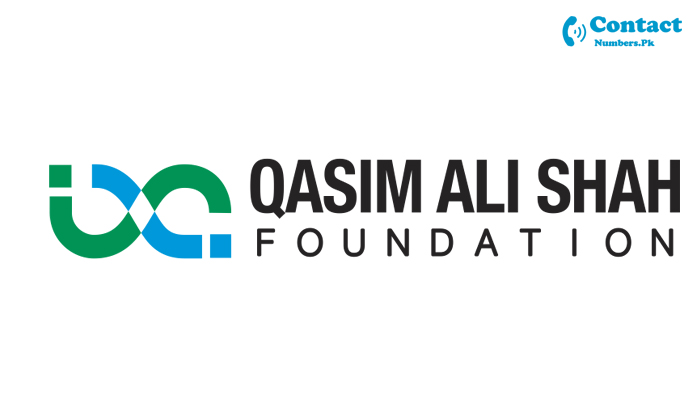 qasim ali shah foundation contact number