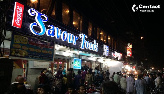 savour foods rawalpindi contact number