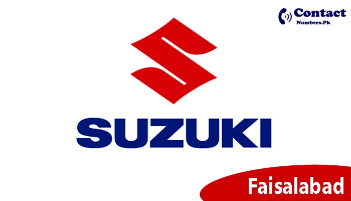suzuki faisalabad motors contact number