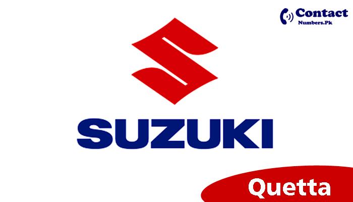 suzuki quetta motors contact number