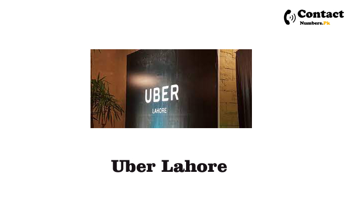 uber lahore contact number