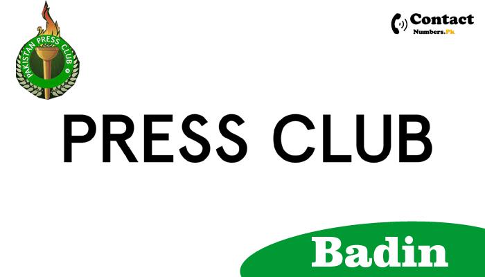 badin press club contact number