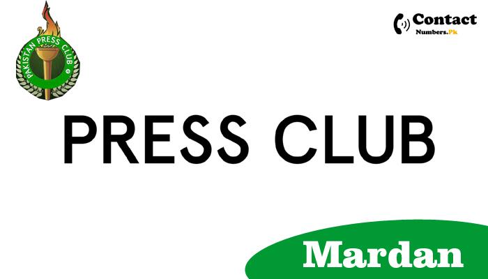 mardan press club contact number