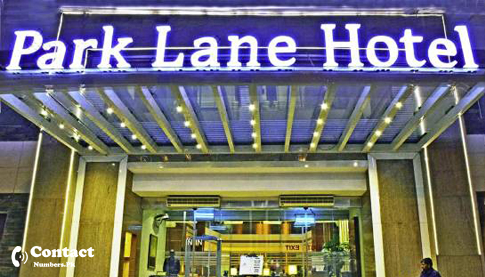 park lane hotel lahore contact number