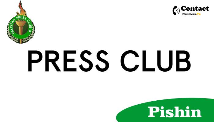 pishin press club contact number