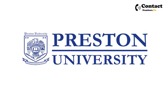 preston university karachi contact number